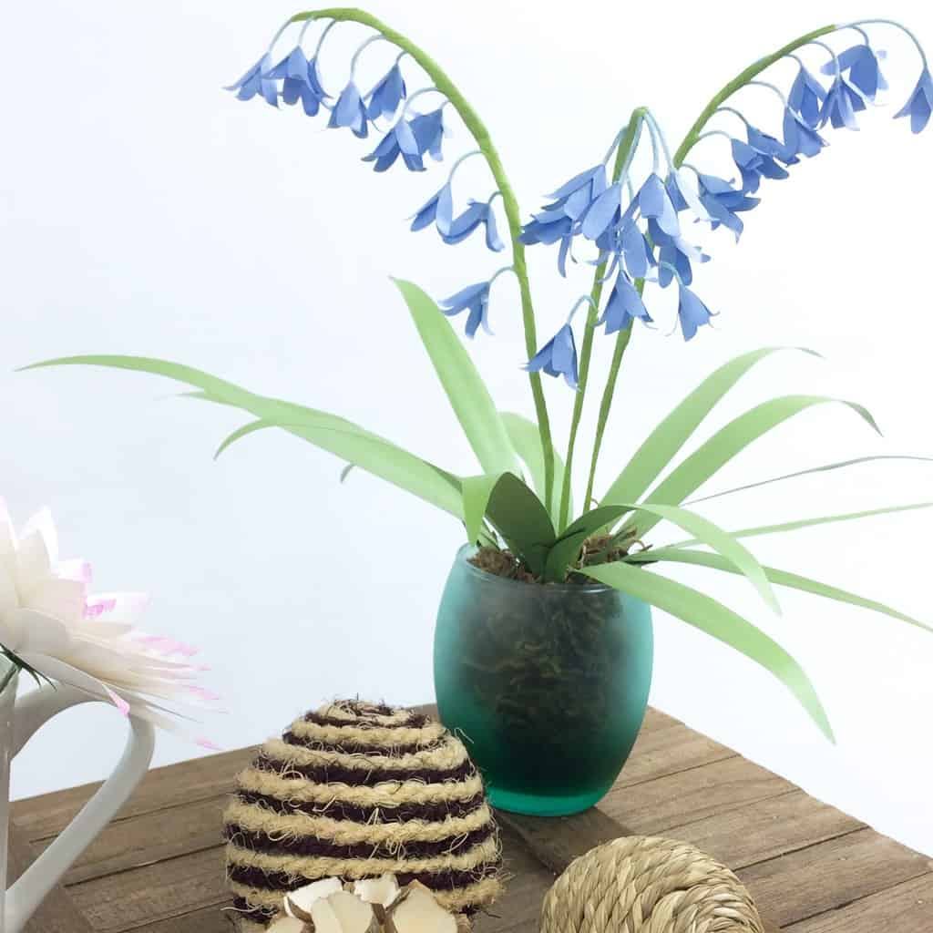 BlueBell Paper Flower Tutorial