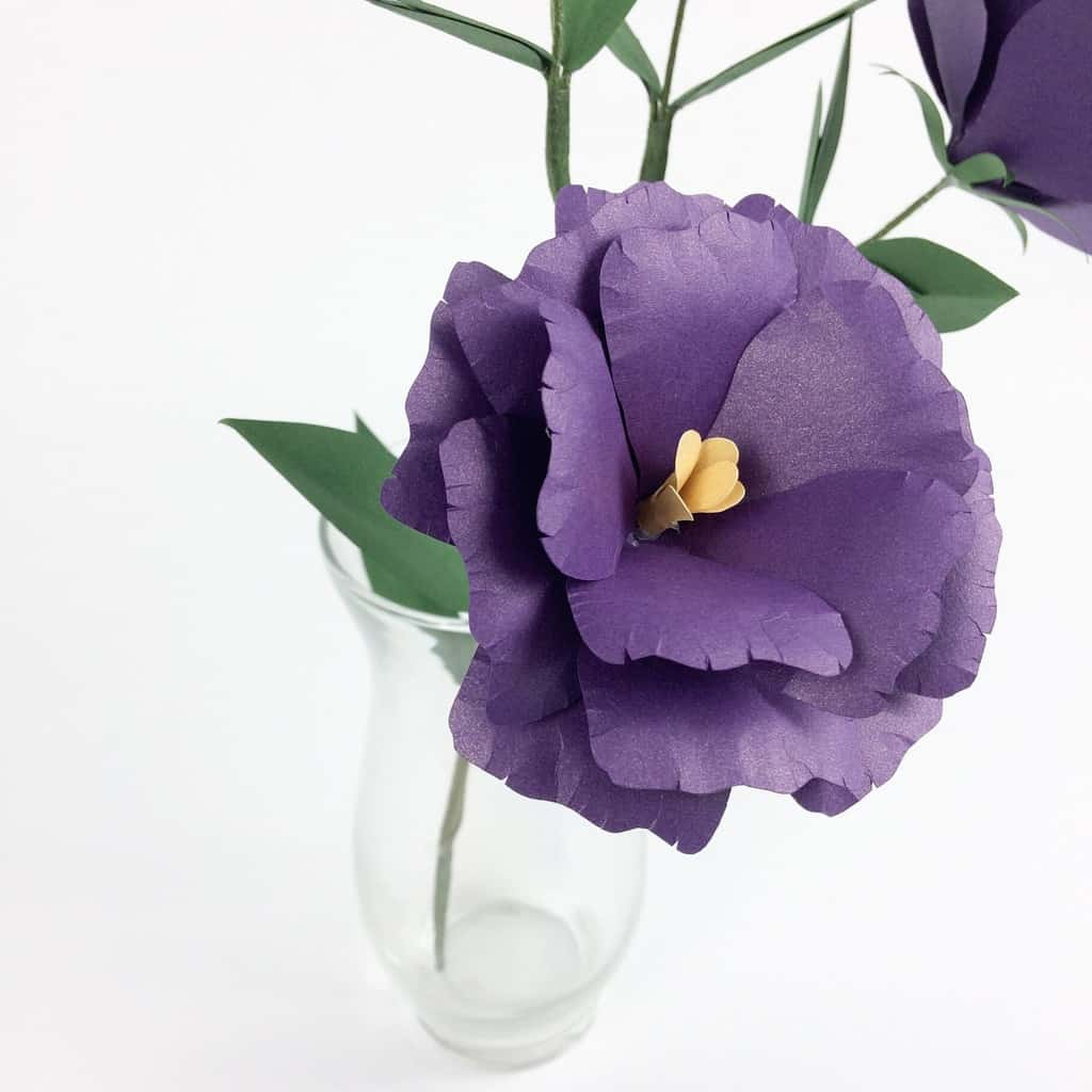 Lisianthus Paper Flower Tutorial