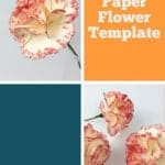 paper carnation template