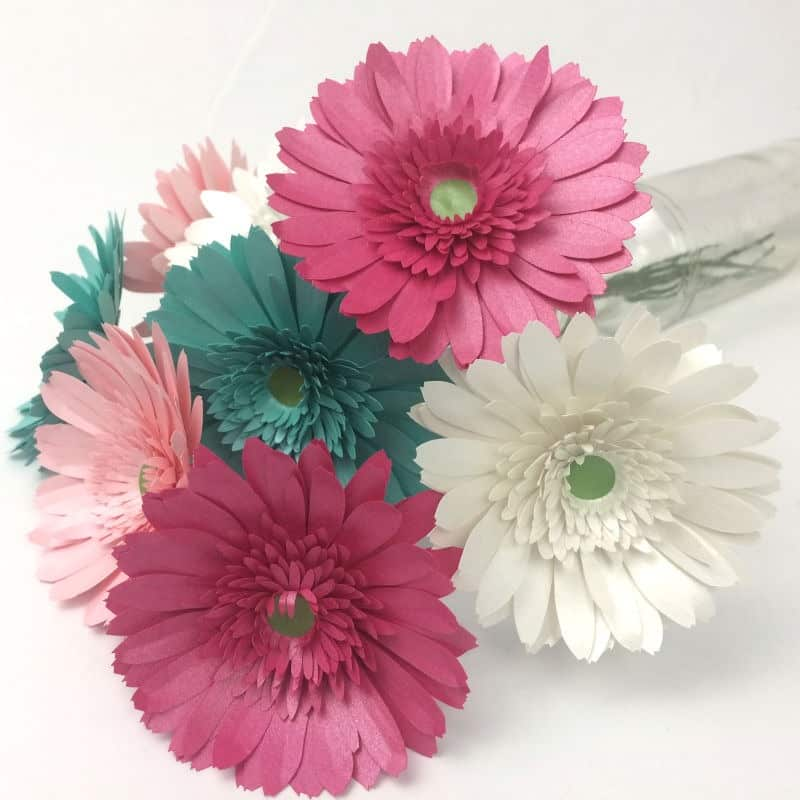How to Make Paper Gerbera Daisies