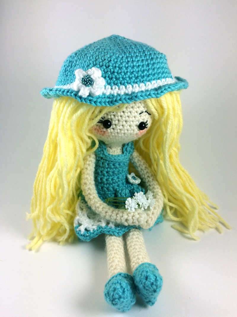 Summer Dress for Crochet Doll