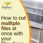how to cut multiple files at once with your glowforge