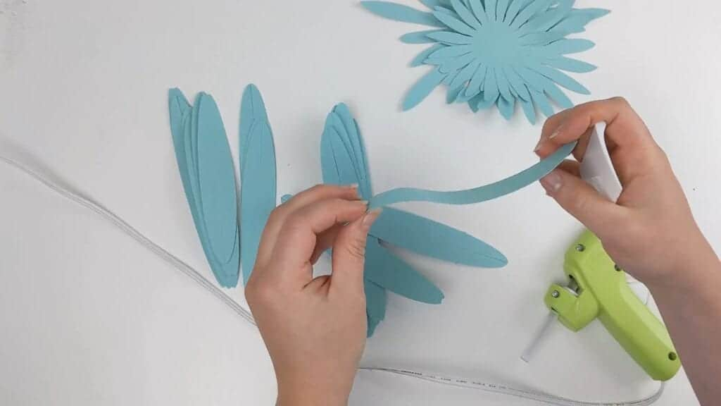 how to make giant gerbera daisy
