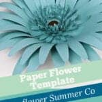 how to make giant gerbera daisy template