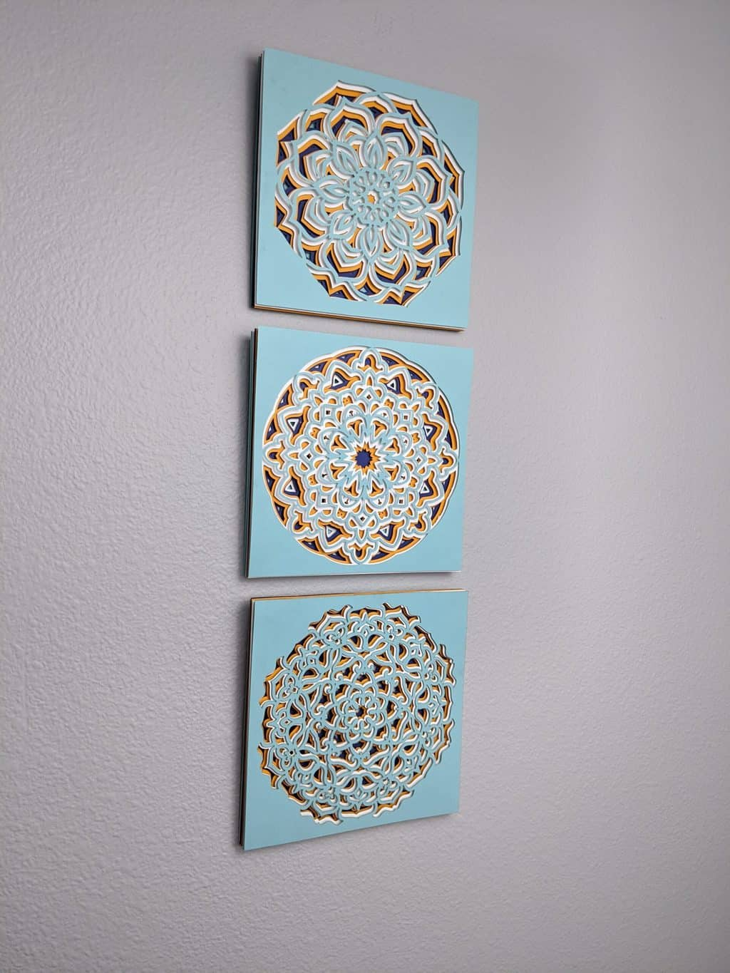 Layered Mandala Wall Art