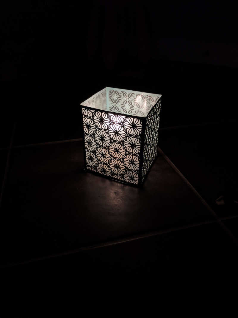 Hexagon Paper Luminaries