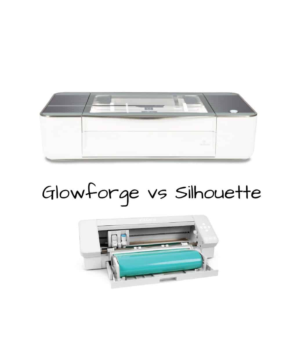 Silhouette vs Glowforge {They're not as similar as you think}