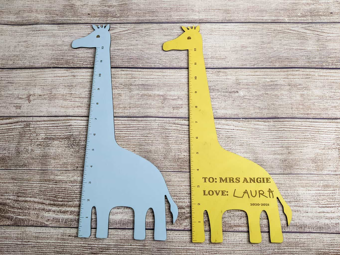 You are currently viewing How To Make a Cute Giraffe Ruler Using a Laser Cutter