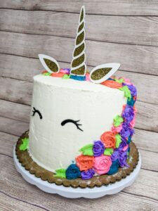 Read more about the article Free Unicorn Cake Topper SVG File- Perfect for a DIY Birthday Cake